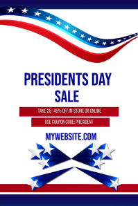 Presidents Day Sale Event Template