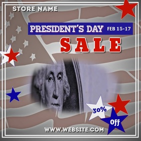 Presidents Day Sale Video