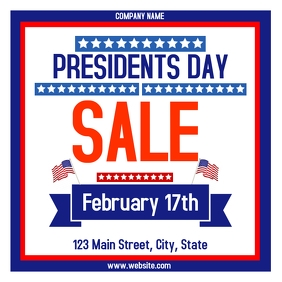presidents day sales advertisement instagram