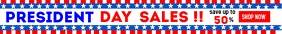 Presidents day sales leaderboard advertisemen Classifica template