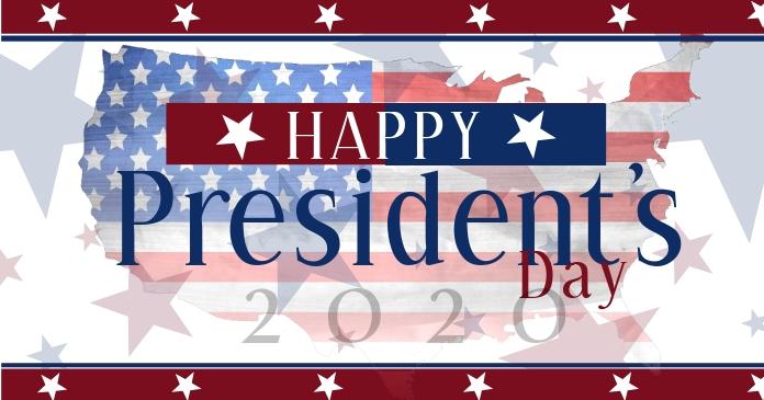 Presidents day Social Media Post Template