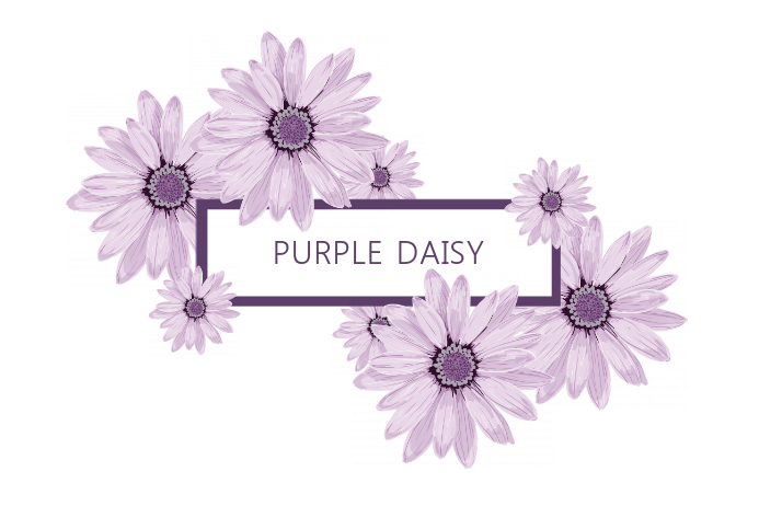 Pretty Purple Title/Label Template