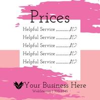 Price List Pos Instagram template