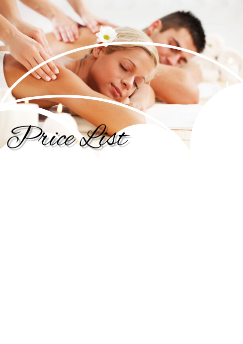 Price List for Salon