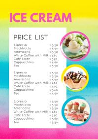 Price List Menu Card Offers Business Flyer
