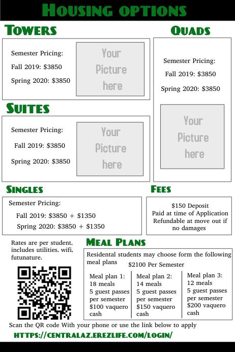 Price option list