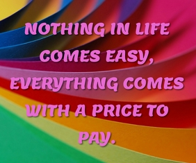 PRICE TO PAY QUOTE TEMPLATE Large Rectangle