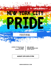 Pride Event Festival Flyer Template