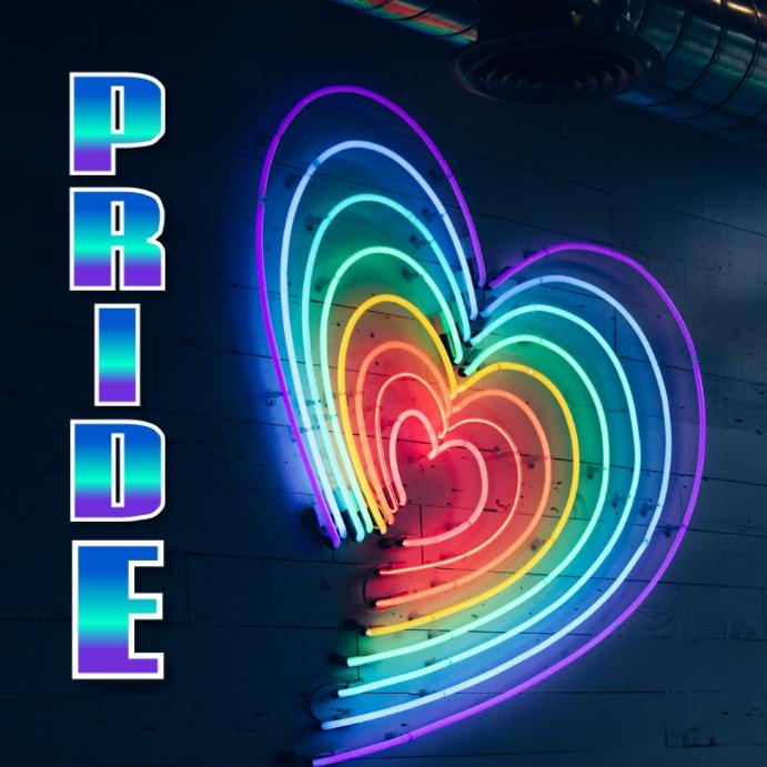 Pride Fest Instagram-opslag template