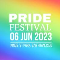 Pride Festival Квадрат (1 : 1) template