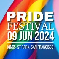 Pride Festival Instagram Post template