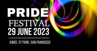Pride Festival Ibinahaging Larawan sa Facebook template