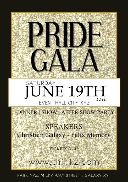 Pride Night Parade Festival lgbt Event Advert
