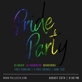 Pride Party LGBT Orgullo Gay Orgulho Rainbow