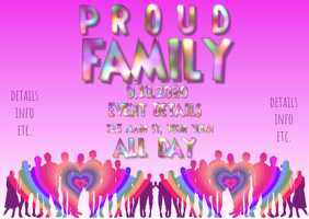 Pride Proud Family Event