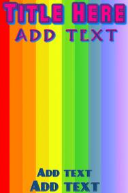 Pride rainbow flag background
