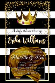 Princess Baby Shower Invitation