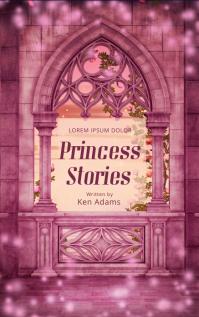 Princess Book Cover Template
