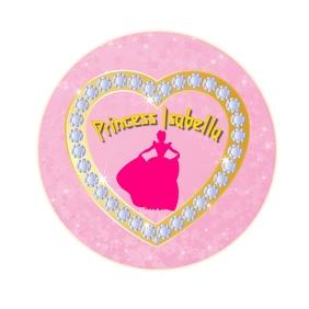 Princess Emblem Logotipo template