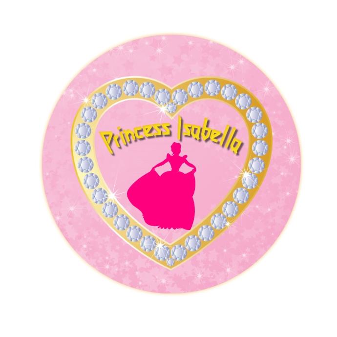 Princess Emblem Logo template
