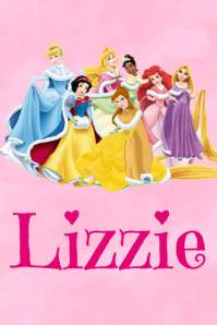 Princess Name Poster