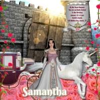 Princess party/birthday/ quinceanera/sweet sixteen/ cumpleañ