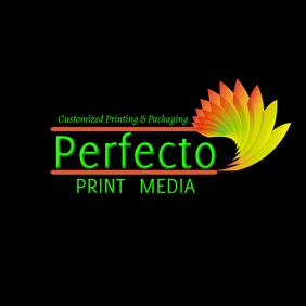Print Media Business Logo template