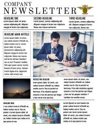 Printable Newsletter Template