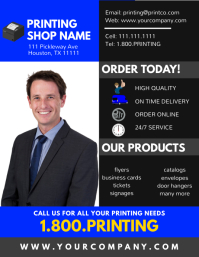 Printing Business Flyer