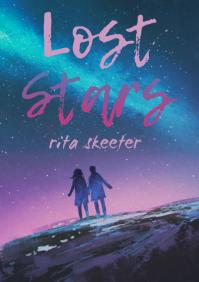 Prismatic Romantic Novel Book Cover Template
