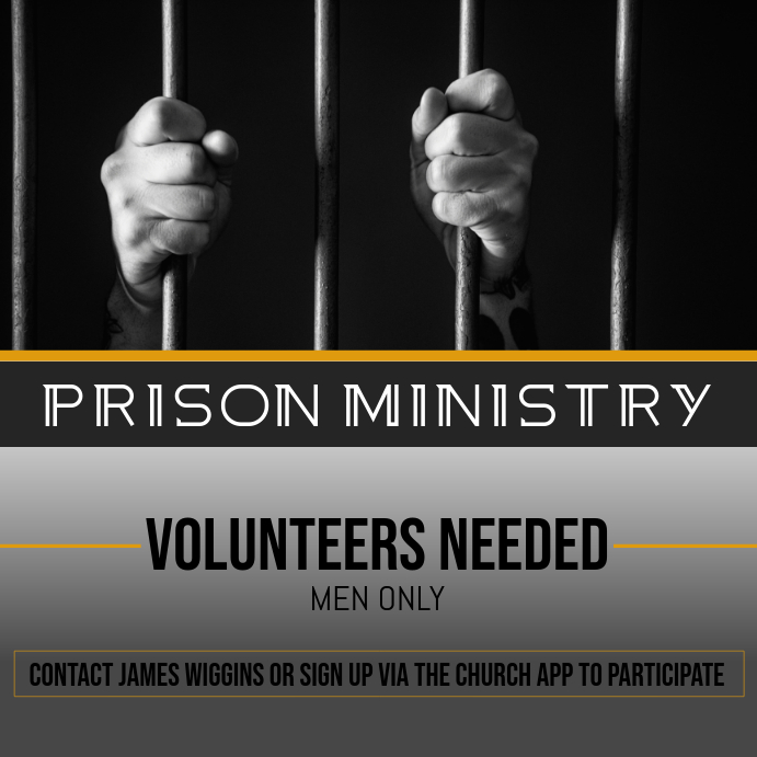 Prison Ministry Pos Instagram template