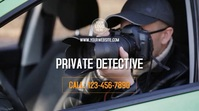 Private Detective Digital Display (16:9) template