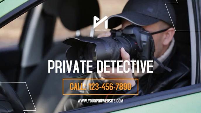 Private Detective Digitale Vertoning (16:9) template