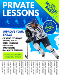 Private Lessons Flyer