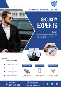 Private Security A4 template