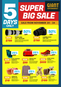 Product Sale Listing Flyer