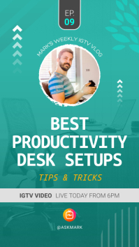 Productivity Tips Sessions IGTV