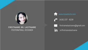 Profession Business Card Template
