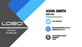 Customizable design templates for business card template postermywall professional business card cheaphphosting Images