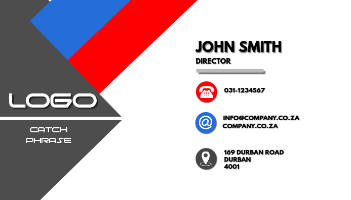 Professional Business card R&B