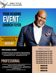 PROFESSIONAL CHURCH FLYER TEMPLATE