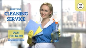 Professional Cleaning Service Digital Display (16:9) template