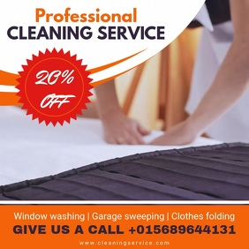 Professional Cleaning Service Online Advert Video