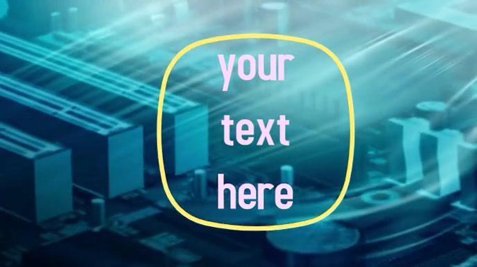 professional Tampilan Digital (16:9) template