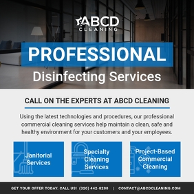 Professional Disinfecting Service Instagram I