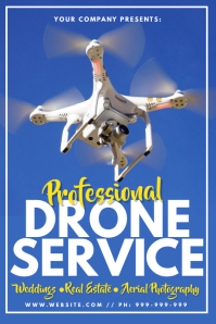 Professional Drone Service Poster