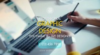 Professional Graphic Design Digitale Vertoning (16:9) template