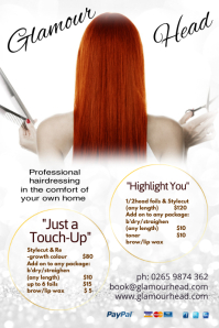 Professional Hairdresser Flyer