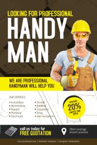 Professional Handman Flyer