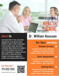 Professional Health Care flyer Template